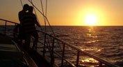 Aphrodite escursione in barca a vela tramonto